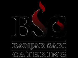 Banjar Sari Catering  Jasa, Catering, Prasmanan, Makanan, Nusantara, Balikpapan, logo,  full colour1